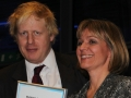 Laura Marks and Boris Johnson