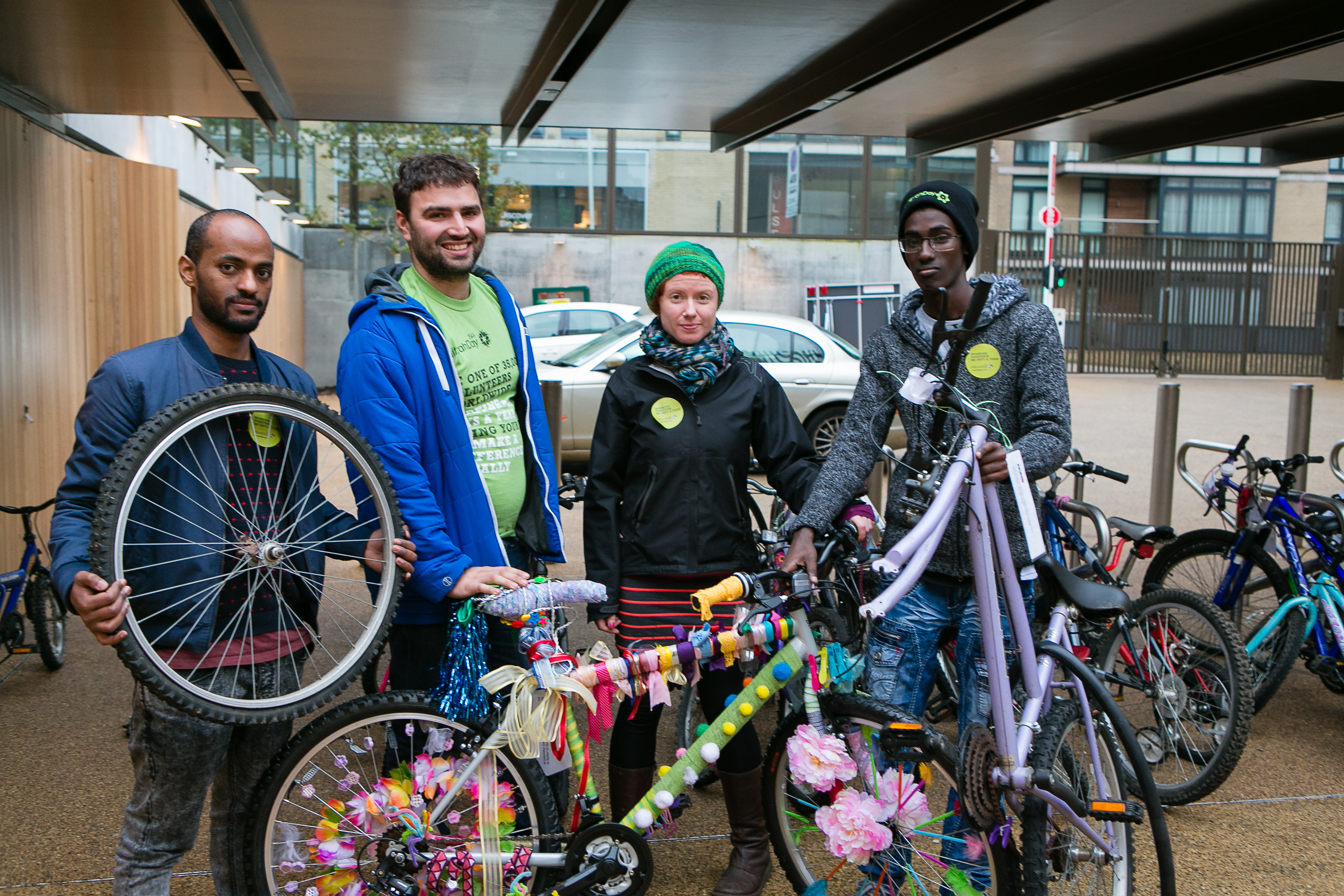 The Bike Project at JW3 on MD2014