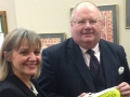 At House of Commons discussing MD with Eric Pickles