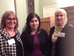 with Warsi and Julie march 14